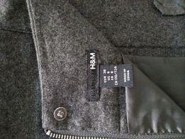 Spódnica wełniana H&M 40