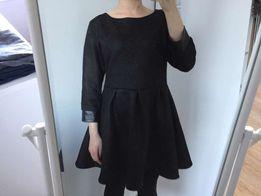 Sukienka rozkloszowana czarna spódniczka 34 XS 36 S 38 M H&M bershka