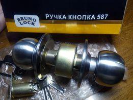 Ручка-кнопка Bruno с барабаном из нержавеющей стали (НОВАЯ)
