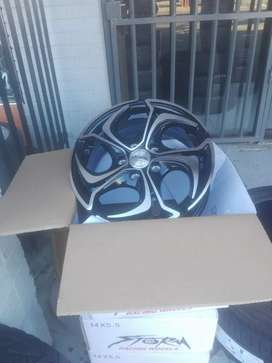 STORM Alloy mags size 14 aset it fits Polo Vivo pcd 5/100