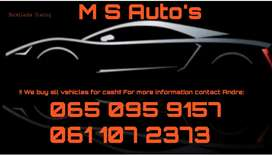 I want your car for cash