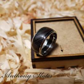 Handcrafted Wood Rings