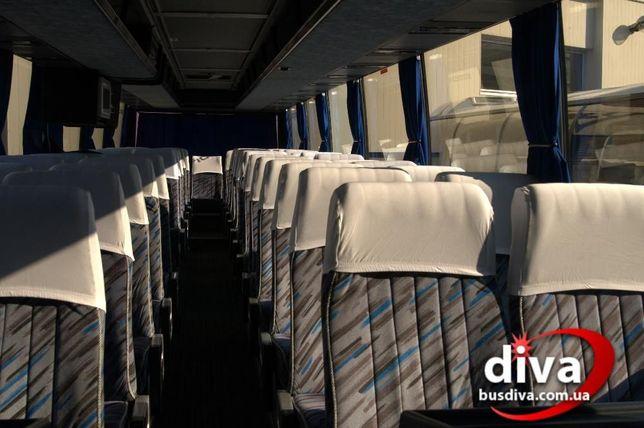 Автобус 50 мест в аренду. Заказ пассажирской перевозки от ДИВА Одесса Одесса - изображение 6