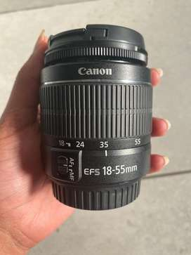 Cannon efs 18-55mm