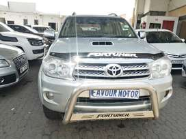 2009 Toyota Fortuner 3,0 D4D ENGINE CAPACITY