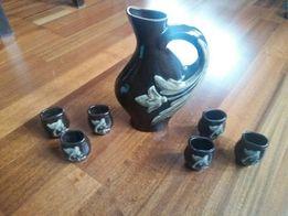 Zestaw dekoracyjny ceramika