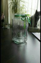 Szklany lampion do domu, na schody