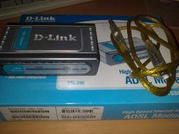 модем D-Link DSL-200