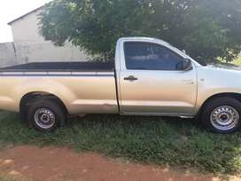 Toyota Hilux D4D diesel engine ready to work