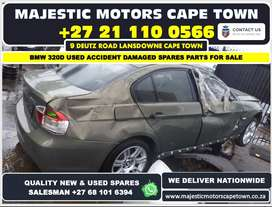 Bmw E90 320d used accident damaged car spares for sale