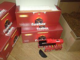 Гильзы для сигарет Firebox 500шт Лучшая цена. гільзи