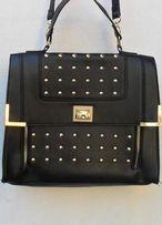 Сумка портфель черная женская через плечо фирма Atmosphere сумочка