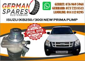ISUZU KB250/300 PRIMA PUMP FOR SALE