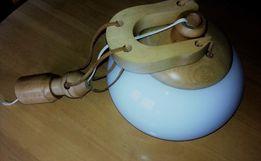 lampa wisząca z kloszem
