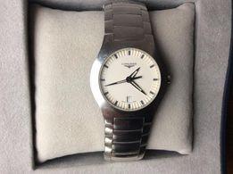 Longines - мужские часы из нержавеющей стали.