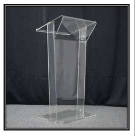 Manufacturer Designed Clear Podium Low Cost