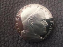 Jan Paweł II Oświęcim ze SREBRA-998-próba.
