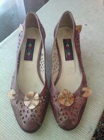 Туфли женские, размер 39, кожа
