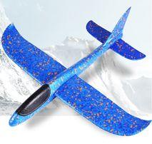 Хит 2019! Самолет - Планер 48см метательный літак красный/синий