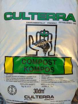 Culterra Landressing and Compost available at only R25 per bag