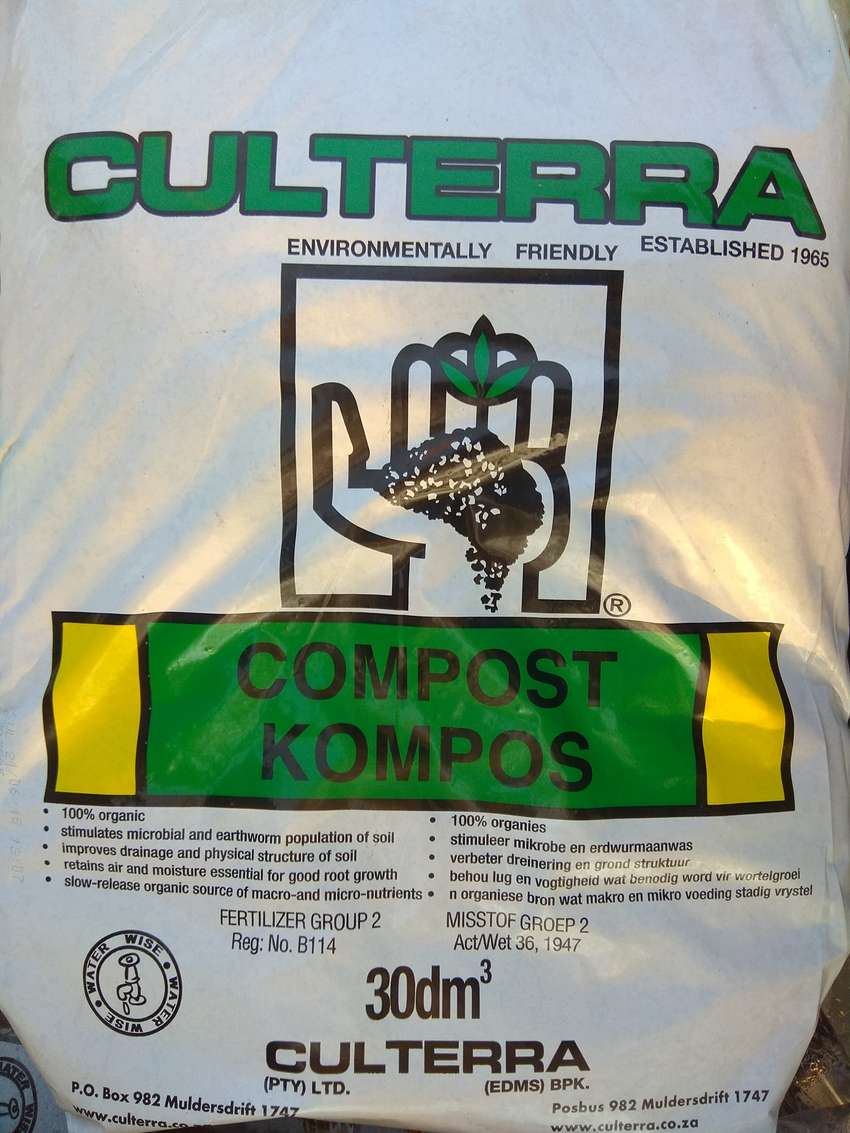Culterra Landressing and Compost available at only R25 per bag 0