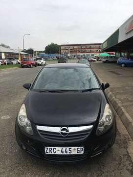 Opel Corsa 1.4 sport 3 door with a sunroof