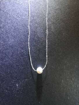 High quality tri-coloured vintage pearl, necklace