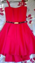 Sukienka czerwona rozmiar 34