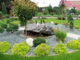 kamień ozdobny, kamień ogrodowy, grys serpenyunit zielono niebieski