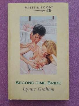 Second Time Bride - Lynne Graham - Mills & Boon.