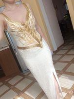 Вечірня сукня з бісеру S