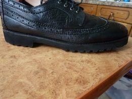 Туфли подростковые Италия ст.26,5,кожа