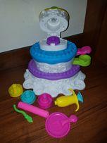Hasbro play doh торт