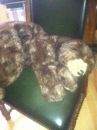 Медведь производства Италия, высота 80 см, очень красивый 200долларов