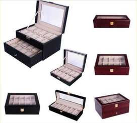Gift Ideas! Watch Display Cases- 10 grids; 20 grids; 6 grids