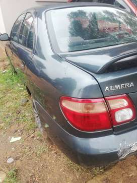Nissan Almera stripping for spares.