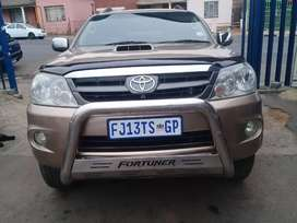 2008 Toyota fortuner 3.0 D4D with a leather seat