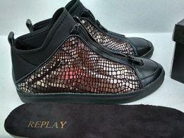Женские кроссовки кеды бренда италии Replay