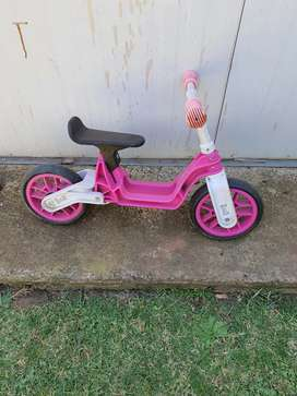 Learner push bicycle