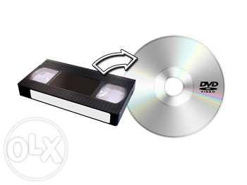 Przegrywanie kaset VHS na płyty DVD, pendrive - 8 zł/kaseta Kraków - image 1