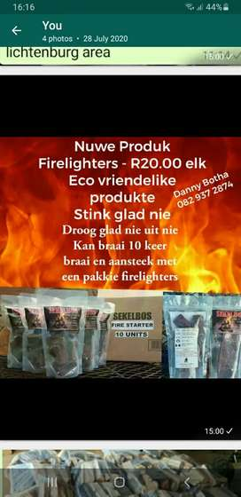 Eco firelighters for sale
