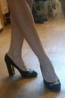 Женские замшевые туфли 40 р.