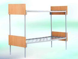 Кровать металлическая для заведений детского питания