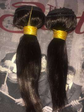"2 bundles 8"" Brazilian hair"