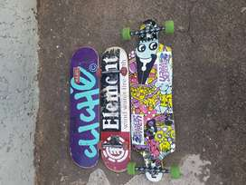 Longboard and skateboard for sale
