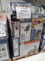 Микс паллеты инструмента из Германии палета сток бытовой техники