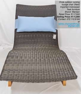 Outdoor Rocking Lounger
