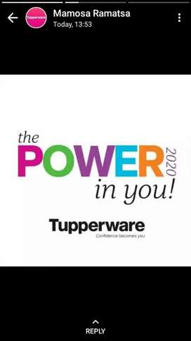 Become a Tupperware Demonstrator