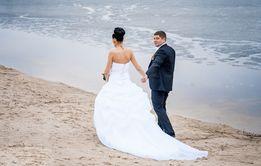 Свадебное платье из ателье!