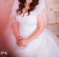 Весільна сукня + подарунок